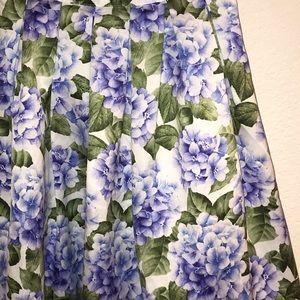 A-line floral skirt 🌿